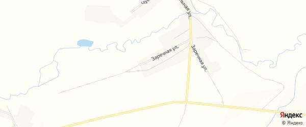 Карта села Мордово-Добрино в Оренбургской области с улицами и номерами домов