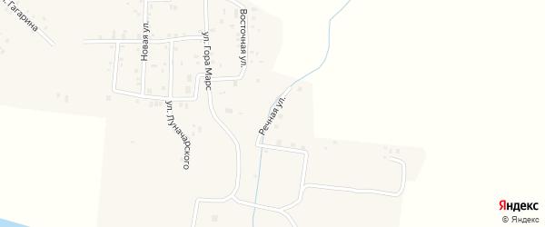 Речная улица на карте села Красного Бора Татарстана с номерами домов