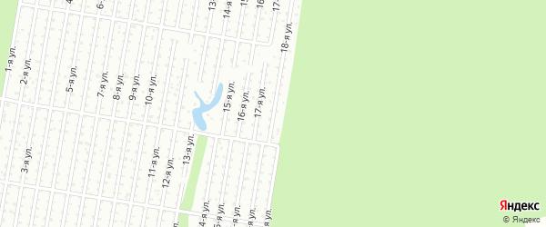 18-я улица на карте территории Мрия Удмуртии с номерами домов