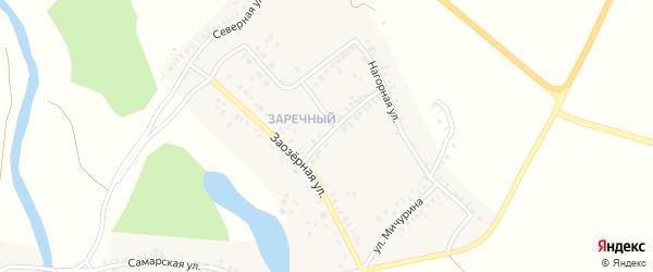 Улица Комарова на карте Сорочинска с номерами домов