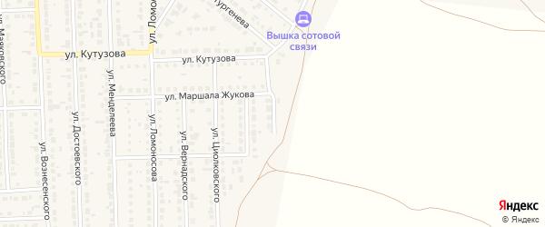 Улица Рокоссовского на карте Сорочинска с номерами домов