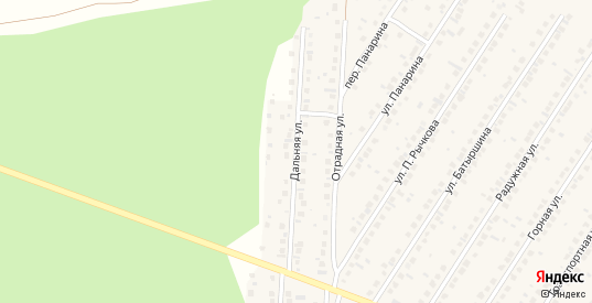 Дальняя улица в Бавлах с номерами домов на карте. Спутник и схема онлайн