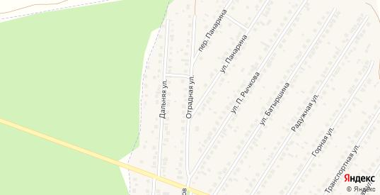 Отрадная улица в Бавлах с номерами домов на карте. Спутник и схема онлайн