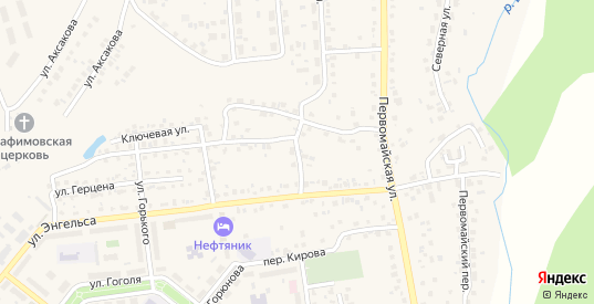 Набережная улица в Бавлах с номерами домов на карте. Спутник и схема онлайн