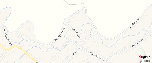 Переулок Тукая на карте Бавлов с номерами домов
