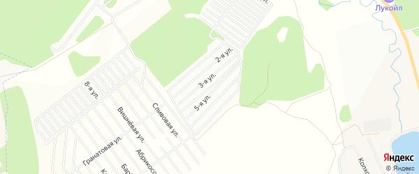 Территория СТСН Родник на карте Завьяловского района Удмуртии с номерами домов