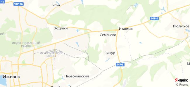 Бахтияры на карте