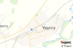 Карта пгт Уруссу
