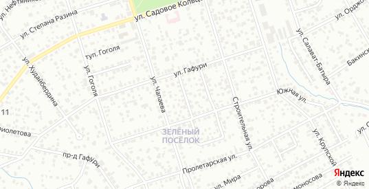 С.Лазо 1-й проезд в Октябрьском с номерами домов на карте. Спутник и схема онлайн
