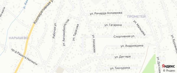 Кольцо Назарова на карте Октябрьского с номерами домов