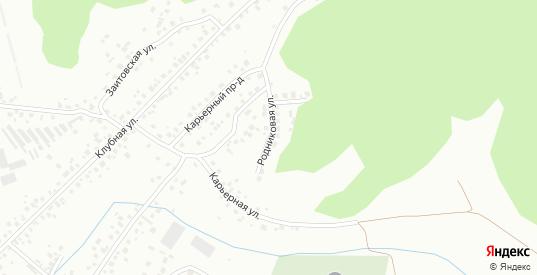 Родниковая улица в Октябрьском с номерами домов на карте. Спутник и схема онлайн