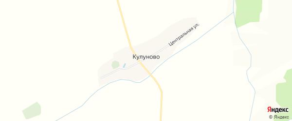 Карта деревни Кулуново в Татарстане с улицами и номерами домов