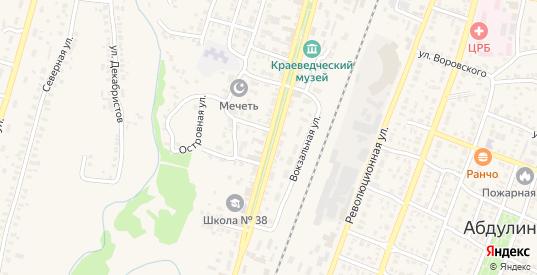 Коммунистическая улица в Абдулино с номерами домов на карте. Спутник и схема онлайн