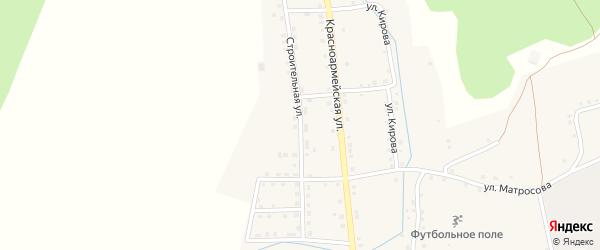 Строительная улица на карте села Нижнетроицкого Башкортостана с номерами домов