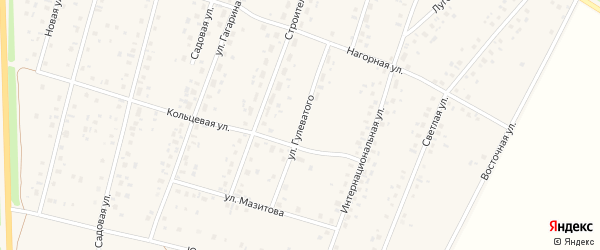 Улица Гулеватого на карте села Ермекеево с номерами домов