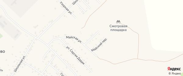 Калиновая улица на карте села Райманово с номерами домов