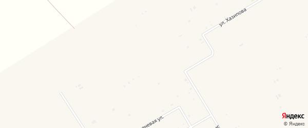 Улица Хазипова на карте села Бакалы Башкортостана с номерами домов