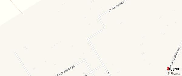 Вишневая улица на карте села Бакалы Башкортостана с номерами домов