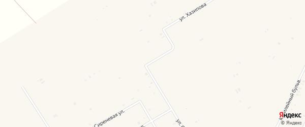 Вишневая улица на карте села Бакалы с номерами домов