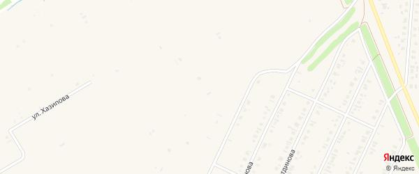 Вишневый переулок на карте села Бакалы Башкортостана с номерами домов
