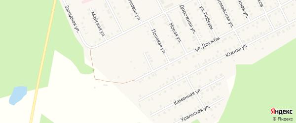Интернациональная улица на карте села Серафимовский с номерами домов