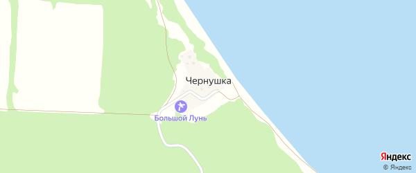Улица Липовая Роща на карте поселка Чернушки с номерами домов