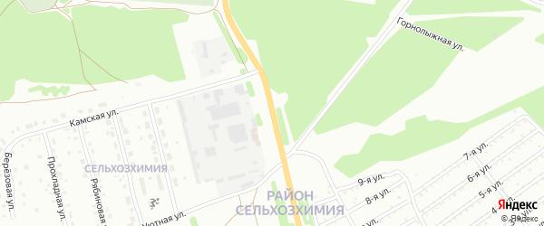 Улица 3 км Шарканского тракта на карте Воткинска с номерами домов