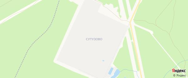 Территория Сутузово на карте Чайковского с номерами домов