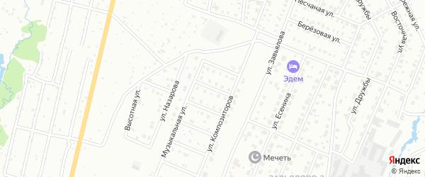 Переулок Чайковского на карте Чайковского с номерами домов