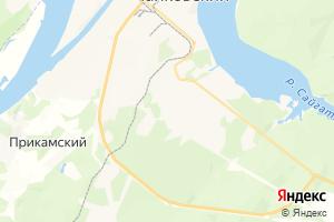 Карта г. Чайковский Пермский край