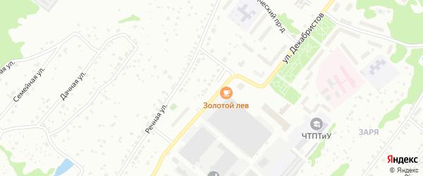 Заринская улица на карте Чайковского с номерами домов
