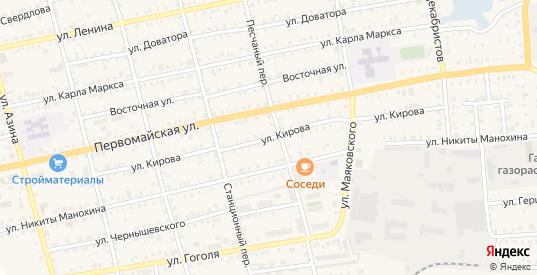 Улица Кирова в Камбарке с номерами домов на карте. Спутник и схема онлайн