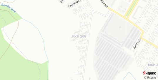 Ивовая улица в Нефтекамске с номерами домов на карте. Спутник и схема онлайн