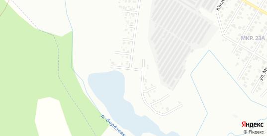Малая Заречная улица в Нефтекамске с номерами домов на карте. Спутник и схема онлайн