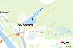 Карта г. Камбарка Удмуртская Республика