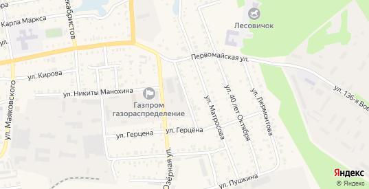 Улица Гагарина в Камбарке с номерами домов на карте. Спутник и схема онлайн