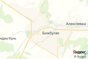Карта с. Бижбуляк
