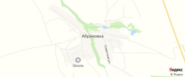 Карта села Абрамовки в Оренбургской области с улицами и номерами домов