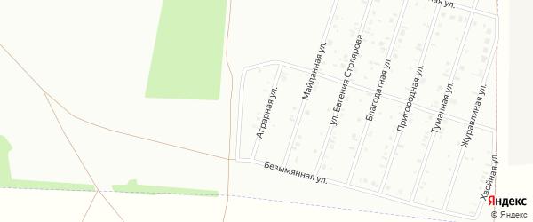 29-я улица на карте СНТ Нефтяника с номерами домов