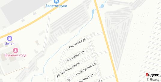 Овражная улица в Нефтекамске с номерами домов на карте. Спутник и схема онлайн