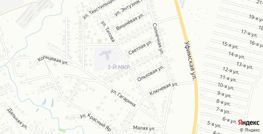 Лазурная улица в Нефтекамске с номерами домов на карте. Спутник и схема онлайн
