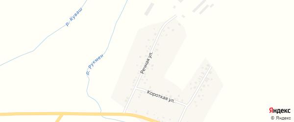 Речная улица на карте села Байбулатово с номерами домов