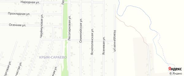 19-я улица на карте территории Радуга-2 с номерами домов