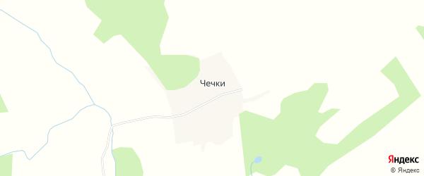 Карта деревни Чечки в Пермском крае с улицами и номерами домов