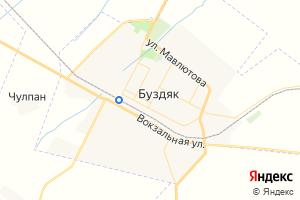 Карта с. Буздяк Республика Башкортостан