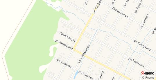 Улица 12 Декабря в Верещагино с номерами домов на карте. Спутник и схема онлайн