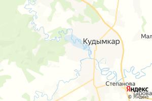 Карта г. Кудымкар