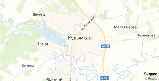 Карта Кудымкара с улицами и домами подробная. Показать со спутника номера домов онлайн