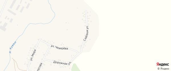 Садовая улица на карте села Асяново с номерами домов