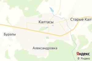 Карта с. Калтасы Республика Башкортостан